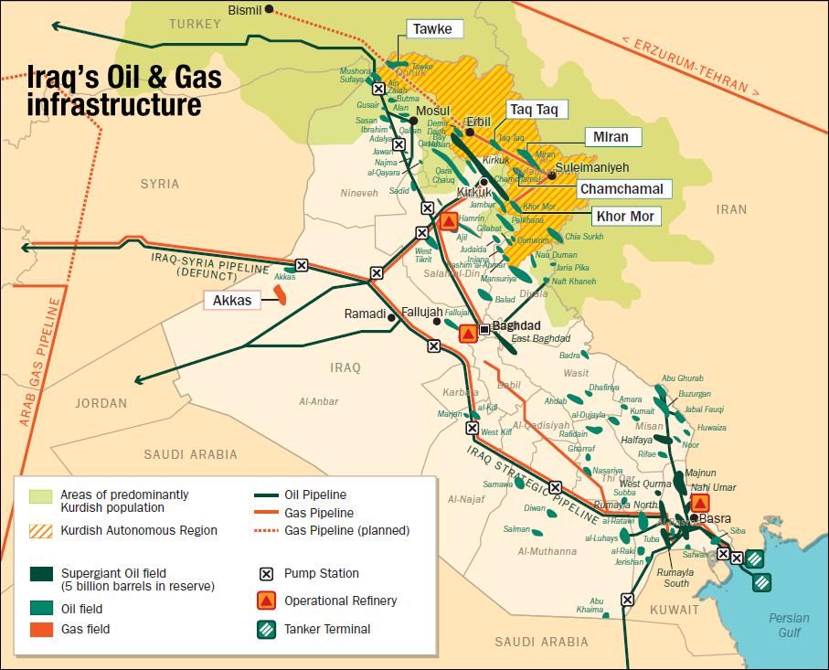 Petrolio in calo, Iraq chiede esenzione da piano OPEC per stabilizzare prezzi