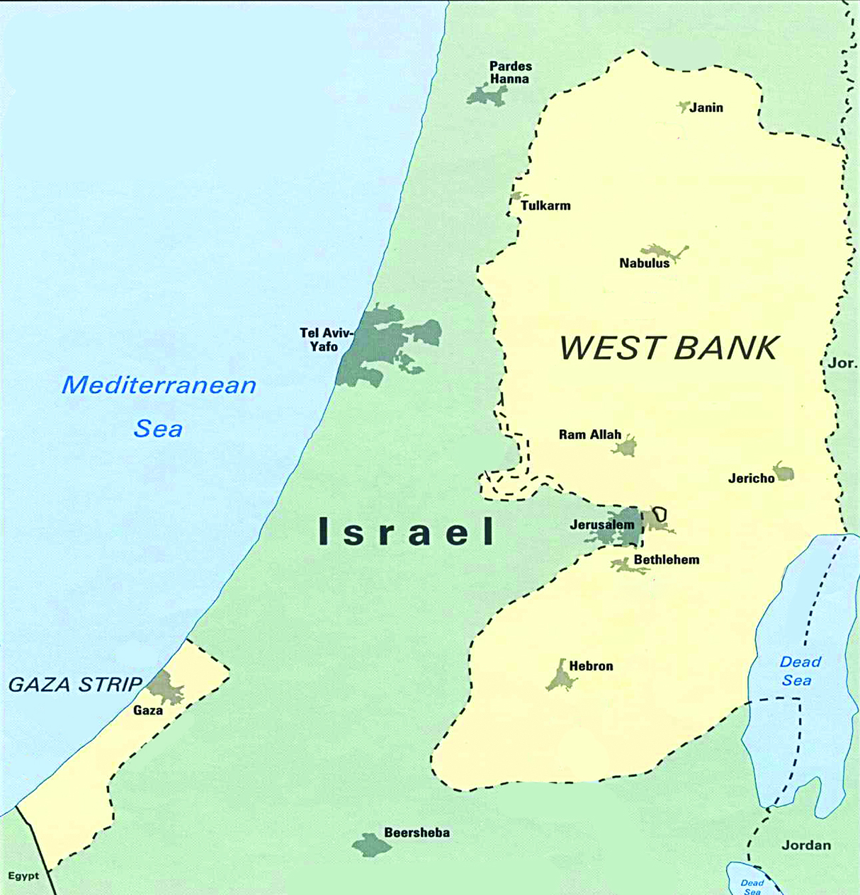 Medio Oriente: Israele vuole la West Bank - Geopolitica - Commoditiestrading