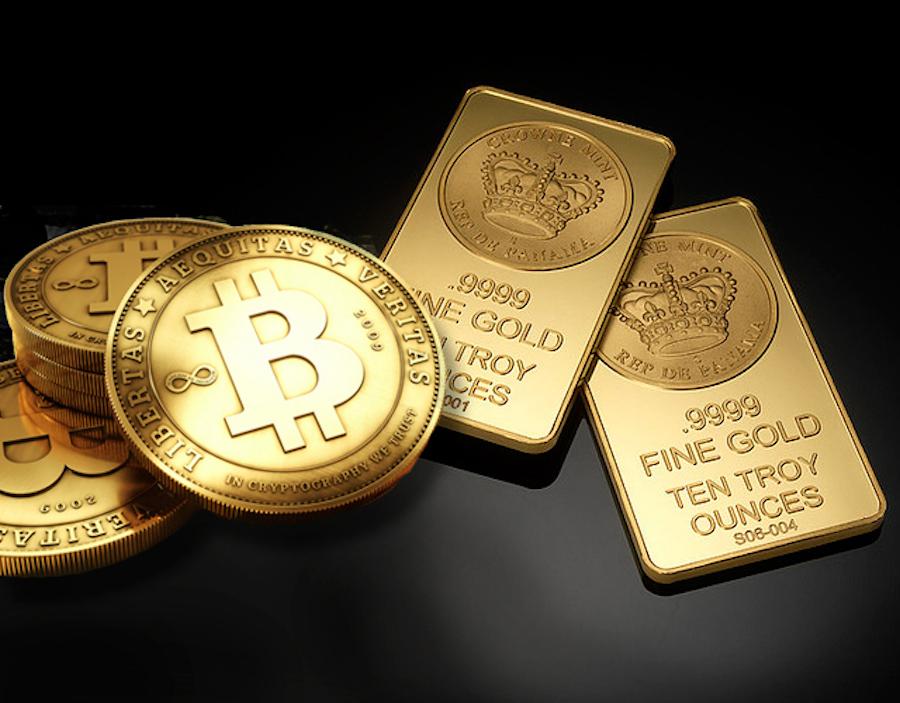 Il crash delle cryptovalute vede un unico vincitore: l'Oro
